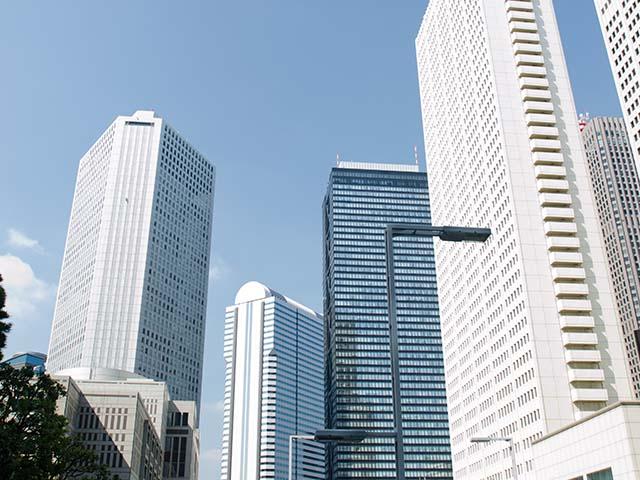 色々な高いビル